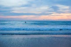 Mooie aard met kleur van zonsopgang Royalty-vrije Stock Foto's