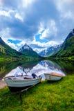 Mooie Aard Noorwegen Royalty-vrije Stock Afbeeldingen