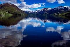Mooie Aard Noorwegen Royalty-vrije Stock Foto's