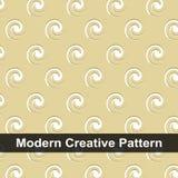 Mooie Abstracte Achtergrond met Spiralen in Retro Stijl royalty-vrije illustratie