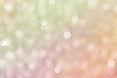 Mooie abstracte bokehachtergrond Royalty-vrije Stock Fotografie