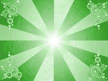 Mooie abstracte groene achtergrond Stock Foto