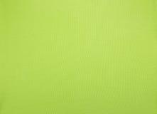 De groene achtergrond van de doektextuur Stock Afbeeldingen