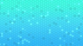 Mooie Abstracte Hexagonale Achtergrond, Naadloze het Van een lus voorzien 3d Animatie, 4K zoek meer opties in mijn portefeuille stock illustratie
