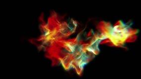 Mooie abstracte komeet 4K vector illustratie