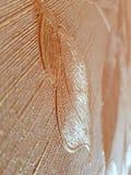 Mooie abstracte textuur van in reliëf gemaakte decoratieve achtergrond met mooie bloemblaadjes stock afbeelding
