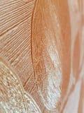 Mooie abstracte textuur van in reliëf gemaakte decoratieve achtergrond met mooie bloemblaadjes royalty-vrije stock afbeelding