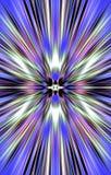 Mooie achtergrond De stralen divergeren van het midden aan de randen stock illustratie