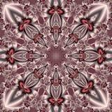 Mooie achtergrond met bloemencirkelornament U kunt het gebruiken Royalty-vrije Stock Foto