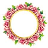 Mooie achtergrond met rozen Royalty-vrije Stock Foto