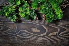 Mooie achtergrond voor Kerstmis en Nieuwjaargroetkaart Stock Afbeeldingen