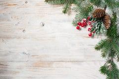 Mooie achtergrond voor nieuwe jaar en Kerstmis Stock Foto