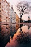 Mooie achtergronden van aardige architectuur stock foto