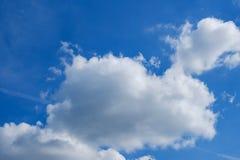 Mooie achtergrondkleuren blauwe helder meteorologie royalty-vrije stock foto
