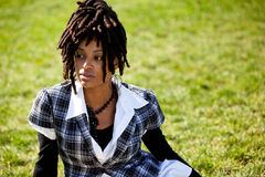 Mooie Afrikaanse Amerikaan stock fotografie