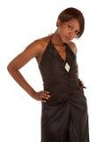 Mooie Afrikaanse Amerikaanse Dame royalty-vrije stock foto's