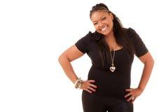 Mooie Afrikaanse Amerikaanse vrouw Royalty-vrije Stock Foto's