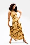 Mooie Afrikaanse vrouw royalty-vrije stock fotografie