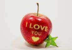 Mooie appel Royalty-vrije Stock Foto's