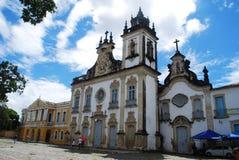mooie architecturale mening van oude paraÃba Brazilië royalty-vrije stock afbeeldingen