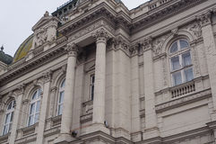 Mooie architectuur, de historische bouw in Lviv royalty-vrije stock foto