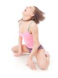 Mooie atletische vrouw Royalty-vrije Stock Afbeeldingen