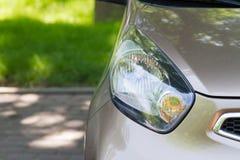 Mooie autokoplampen royalty-vrije stock foto's