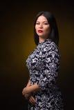 Mooie Aziatische vrouw Royalty-vrije Stock Foto's