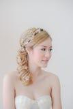 Mooie Aziatische Vrouwenmake-up Royalty-vrije Stock Foto's