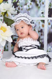 Mooie baby Royalty-vrije Stock Foto's