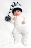 Baby in hoed Royalty-vrije Stock Foto's