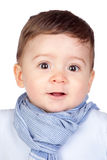 Mooie baby met aardige ogen Royalty-vrije Stock Foto's