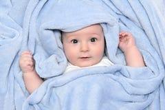 Mooie baby na bad Royalty-vrije Stock Foto's