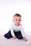 Mooie babyjongen Stock Foto's
