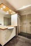 Mooie badkamers Royalty-vrije Stock Afbeeldingen