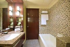 Mooie Badkamers van een Luxehotel royalty-vrije stock foto's