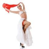 Mooie ballerina royalty-vrije stock fotografie