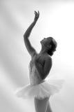 Mooie Balletdanser Reaching Up Royalty-vrije Stock Afbeeldingen