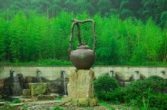 Mooie bamboeoverzees Royalty-vrije Stock Afbeelding