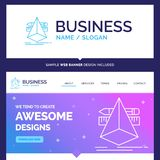 Mooie Bedrijfs 3d Conceptenmerknaam, ontwerp, ontwerper, sket vector illustratie