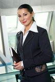 Mooie bedrijfsvrouw Royalty-vrije Stock Foto
