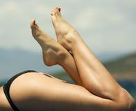 Mooie benen Royalty-vrije Stock Foto's