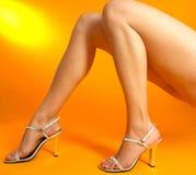 Mooie benen royalty-vrije stock afbeelding