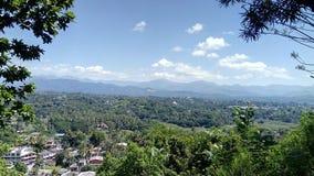 Mooie berg van kandy Sri Lanka royalty-vrije stock afbeeldingen