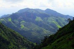 Mooie bergen Royalty-vrije Stock Afbeeldingen