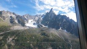 Mooie bergen in Frankrijk Stock Foto's