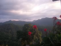 Mooie bergen in Sri Lanka Royalty-vrije Stock Afbeeldingen