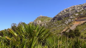Mooie bergen van het Eiland Mallorca stock videobeelden