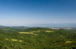 Mooie berglandschappen, Georgië Stock Afbeeldingen