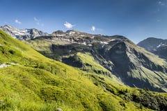 Mooie bergvallei Stock Foto